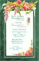 Product Image For Victorian Roses invitation