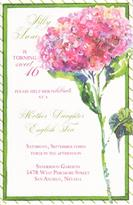Product Image For Hydrangea Pink invitation