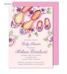 Product Image For Baby Shoes Shower Invitation