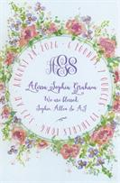 Product Image For Poppy Violet Ring Invitation
