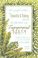 Product Image For Tropic Green Invitation
