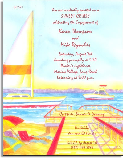 "Harbor Cruising Paper - Make an impression with our colorful designer 8 ½"" x 11"" paper & coordinating envelopes which are laser/inkjet compatible. You wont find premium quality paper like this at your local store. Coordinating envelopes are sold separately."
