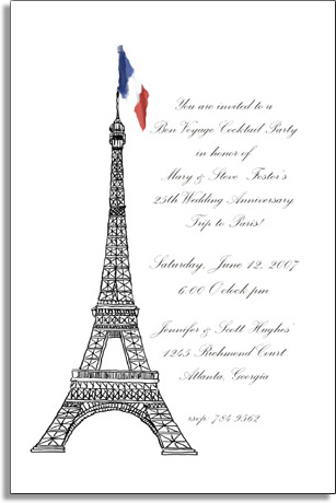 Quick view fi 575 french flag french flag make an impression with these beautiful invitationannouncement cards the design stopboris Images