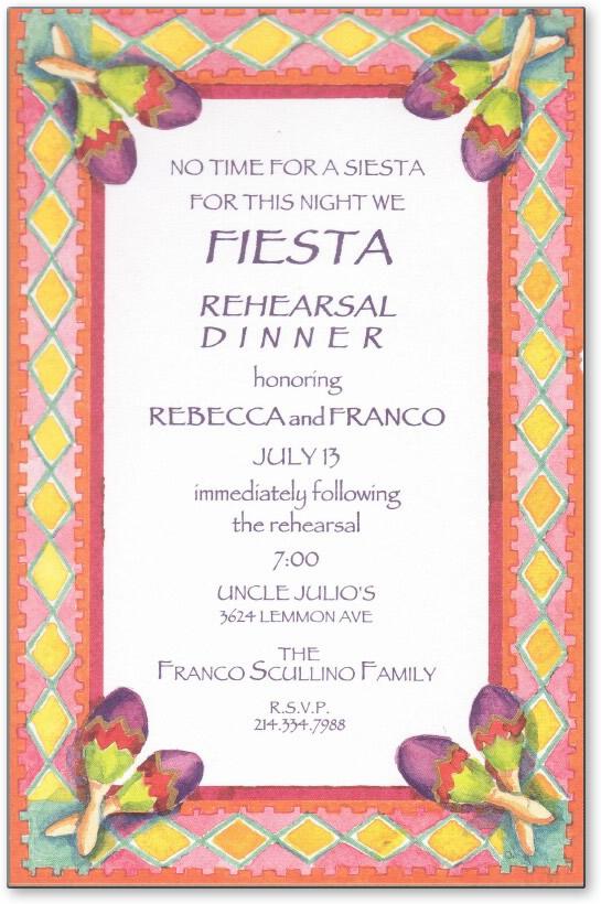 "Quick View - XAR3347 - ""Fiesta Dinner"""