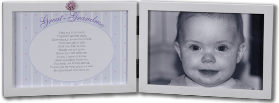 my great grandma photo frame from the grandparent gift co