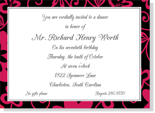 Quick View LJ41 Moulin Rouge Invitation