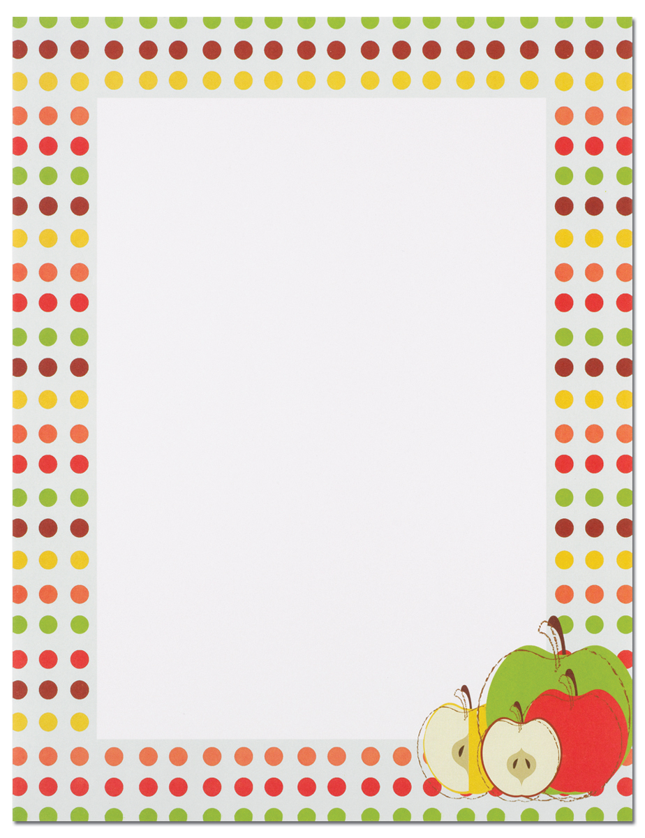 Apples Laser Paper - Our desktop/EZ-print papers are a cinch for you to print on your inkjet/laser printer. Dont forget the coordinating #10 size envelope shown. (NOT AVAILABLE PERSONALIZED)