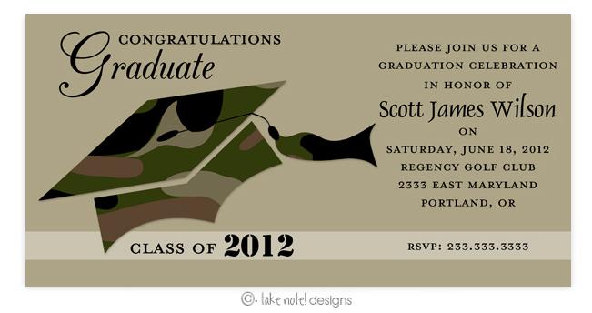 Quick View TNDA37814 Camo Graduation Invitation