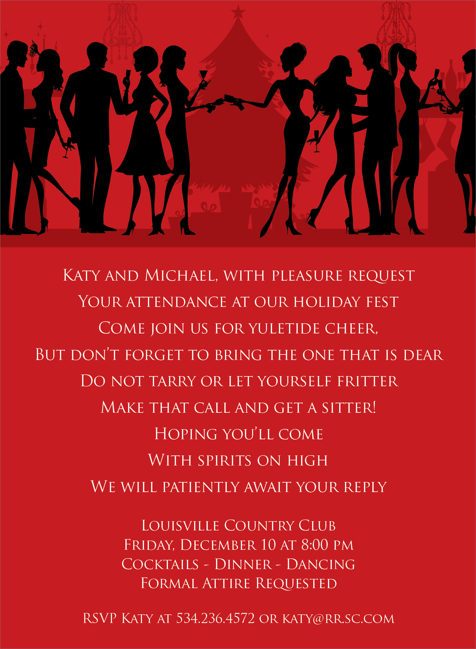 Similiar Formal Christmas Party Invitations Keywords
