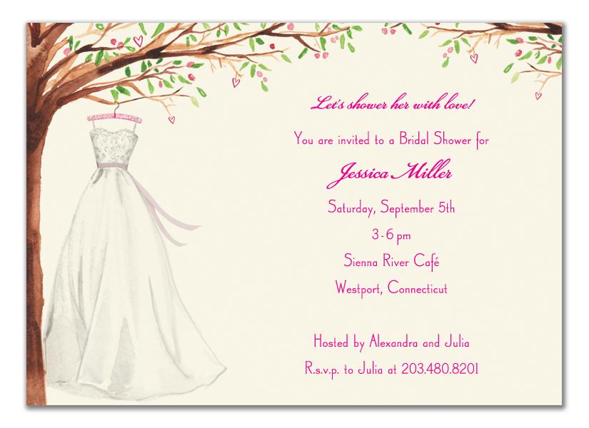 Quick View B Wwdiw Wonderful Wedding Dress Invitation White