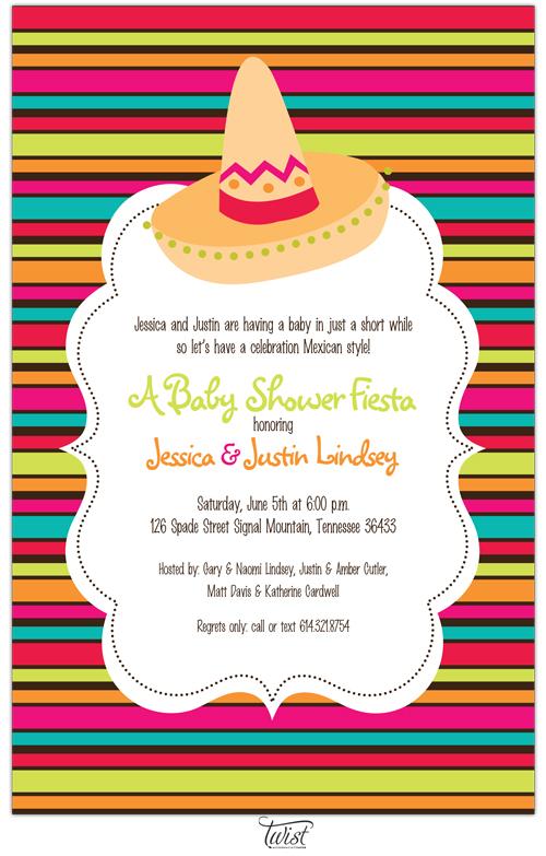 """Quick View - E-331105 - """"Fiesta Invitations"""""""