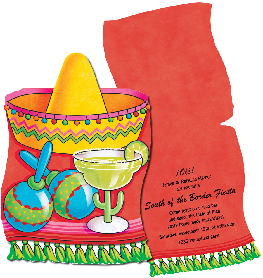 partido invitations   this great invitation is perfect for