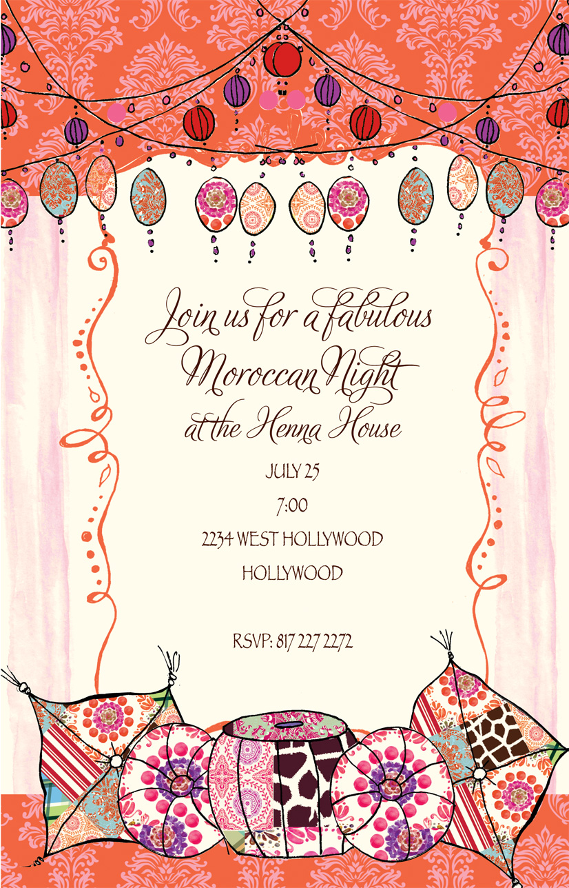 Hens Night Party Invitation Wording - Life Style By Modernstork.com