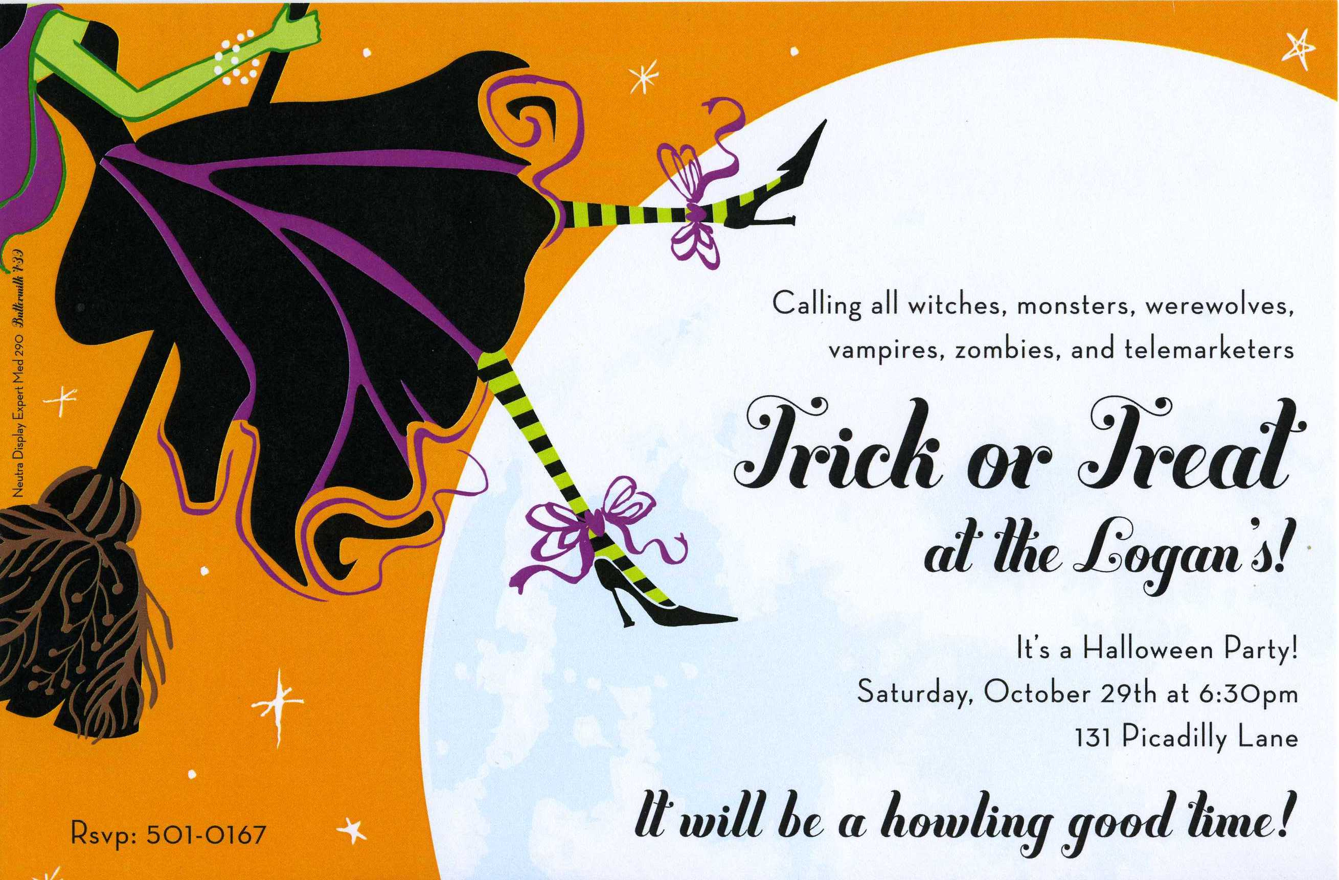 Witch Invitation Grude Interpretomics Co