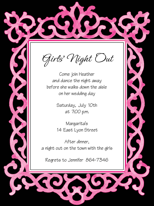 quick view mid 314 52168 chic frame pink black invitation