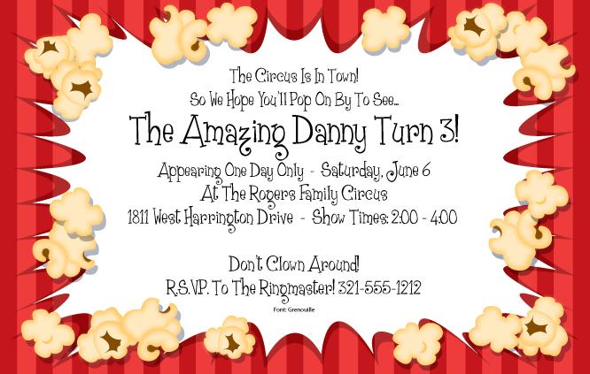 Printable Movie Night Invitations as adorable invitations layout