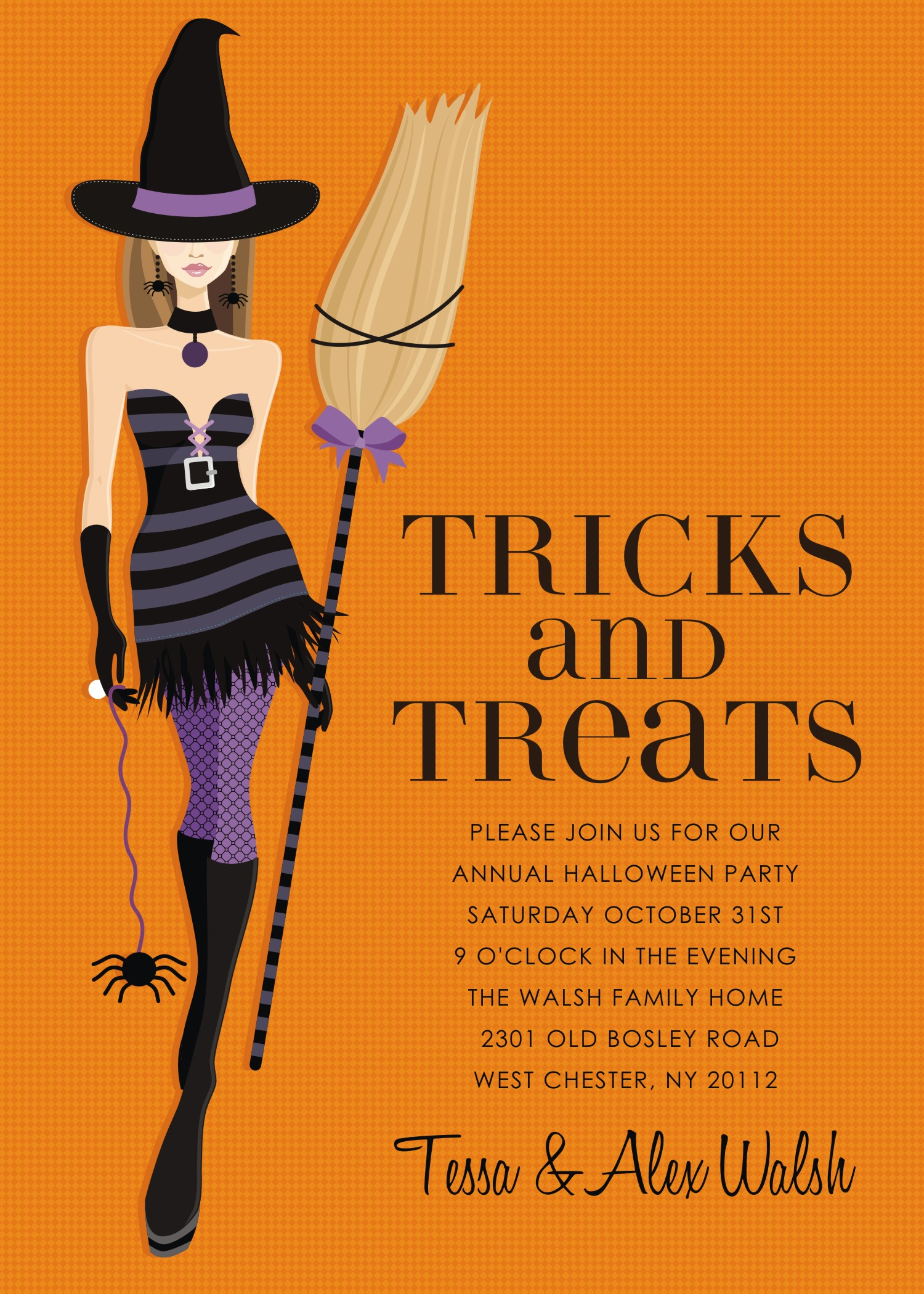 Printable Halloween Invitations was good invitation example