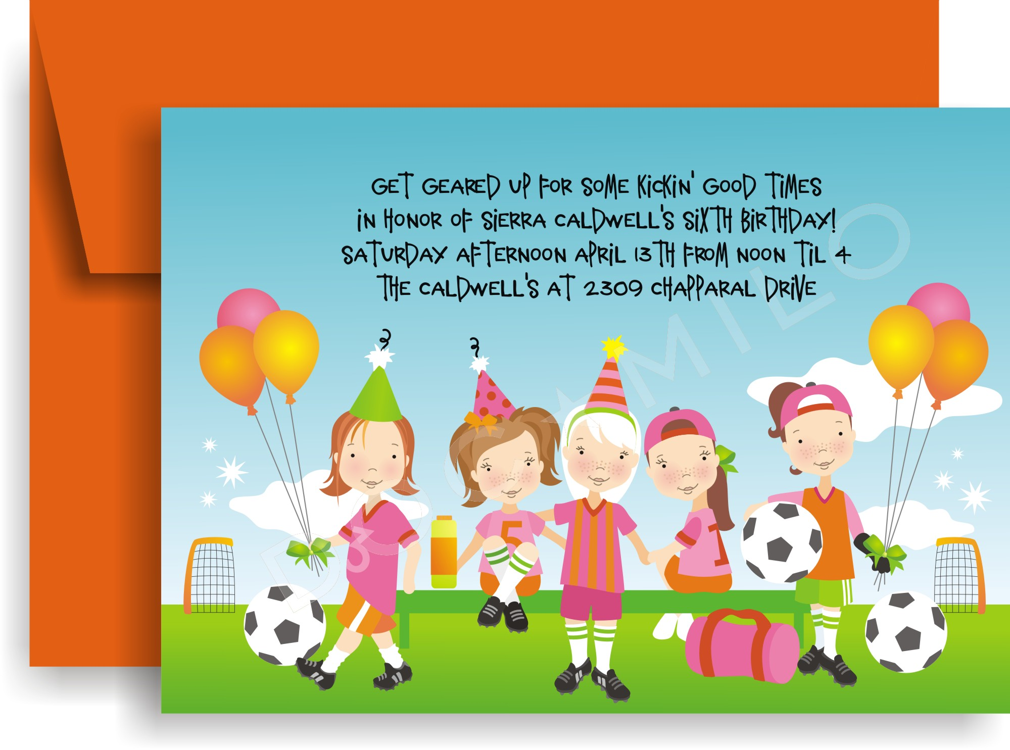 Soccer Invitation Wording are Unique Design To Make Nice Invitations Sample