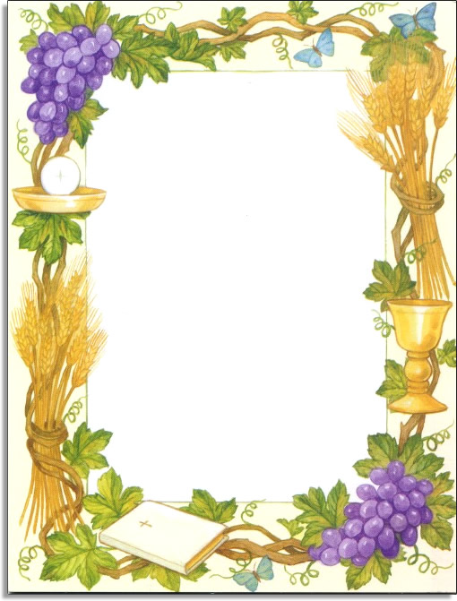 First Holy Communion Border Clip Art Prayer clip art related keywords ...