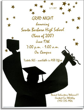 "This Graduation themed premium quality designer 8 ½"" x 11"" paper & coordinating envelopes is laser/inkjet compatible. Coordinating envelopes are sold separately."