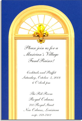Invitations NEW HOME MOVING GRAND OPENING Invitations French Door