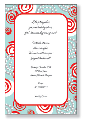 A trendy and colorful design printed only on premium fine quality 80 lb. card stock. Available either blank or personalized. Includes white envelope.