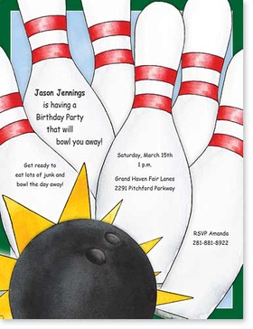 Bowling Stationery Paper