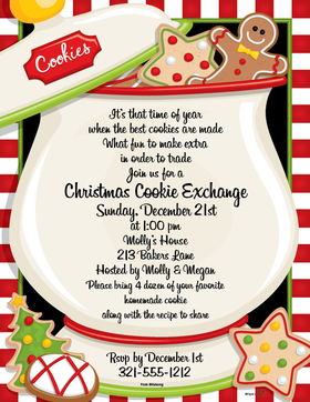 A great paper for a holiday cookie party!  Send your news on this great christmas paper that shows a giant cookie jar  that has cookies overflowing with lots of holiday favorites.  Colored envelopes are available, sold seperately.