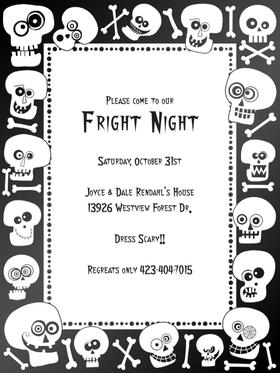 halloween letterhead