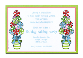 A trendy Holiday design printed only on premium fine quality 80 lb. card stock. Available either blank or personalized. Includes white envelope.