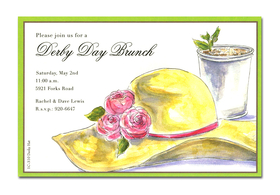 Exclusive line and trendy design printed  on premium fine quality 80 lb. ivory card stock. Available either blank or personalized. Includes ivory envelope.