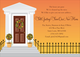 Invitations New Home Moving Grand Opening Invitations