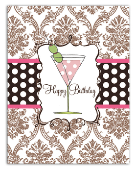 "Classy fold over white note card.  This item comes blank or personalized with one line of text, such as name or ""thank you"" on the front. comes with color coordinating envelope."