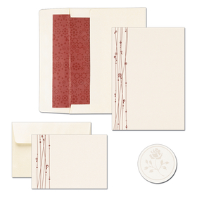 "TEMP OUT OF STOCK<br><br><br>GREAT DEAL! This product is great for Weddings and those special events.   Package includes 50 invitations, 50 lined envelopes, 50 note cards/with envelopes.  Also included is 50 Seals for envelope.  This product can be purchased blank and you print it, or we can print this for you! <b>If you are ordering personalized, we will only print ""Thank You on the Note cards in your personalized font. we do not send a proof of the note card. If you do Not need these personalized please make a note in the comments section. </b>"