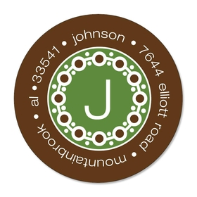 Coordinating Label for the perfect touch to all your holiday cards. Label comes with your family name and address printed on them. (personalized only)