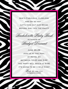 Hot Pink Zebra Print Borders Images & Pictures - Becuo