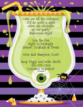Halloween Invitation Rhymes was good invitations design