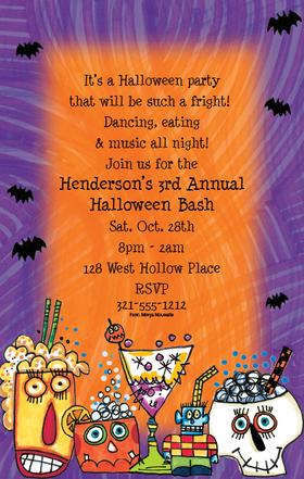 Impressions In Print All Posts Tagged Custom Halloween Invitations
