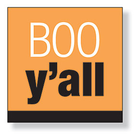 "A great ""BOO yall"" Halloween design beverage napkins are perfect for your Halloween party! There are 20 napkins in the pack. Minimum order is 6 packs."
