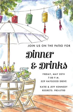 Invitations Bbq Picnic Invitations Deck Party Invitation