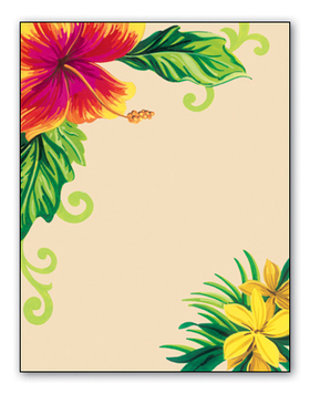 Stationery Notecards Letterhead Stationery Papers Floral