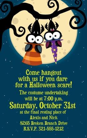 Holiday Amp Seasonal Halloween Invitation Cardstock