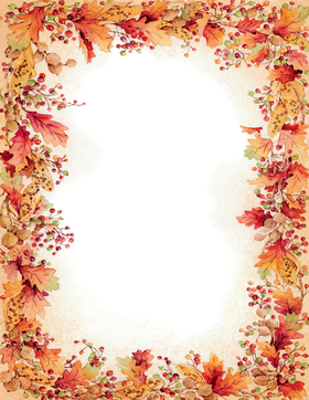 holiday seasonal fall thanksgiving stationery papers 8 5 x 11