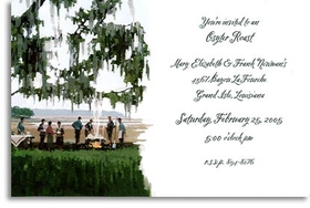 Invitations Clambake Seafood Invitations Oyster Roast By The Water