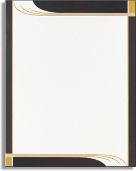 letterhead border