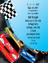Product Image For Race Cars Paper