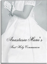 Product Image For Communion Girl W/ Vellum Note