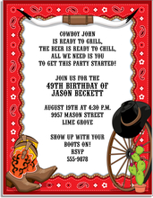 Western invitations | Western Party Invitations | Western ...