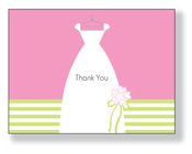 Product Image For Bride and Bouquet Notecard