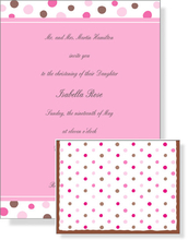 Product Image For Baby Cake Invitation